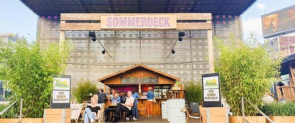 Spielbudenplatz Hamburg Sommerdeck