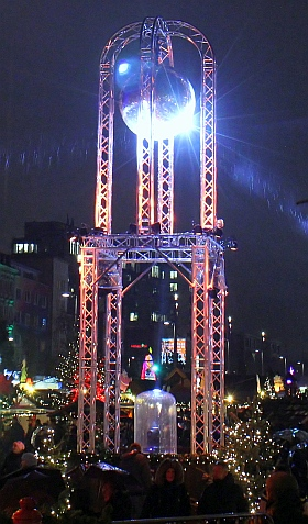 Santa Pauli 2019 Hamburg Weihnachtsmarkt Spielbudenplatz Olivia Jones Family