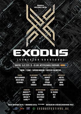 Exodus 2020 Westfalenhallen Dortmund